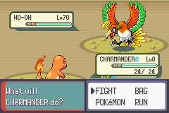 Pokemon Rebirth - Battle  - I think I can take him :D - User Screenshot