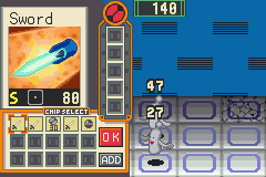 Megaman Battle Network - cool sword - User Screenshot