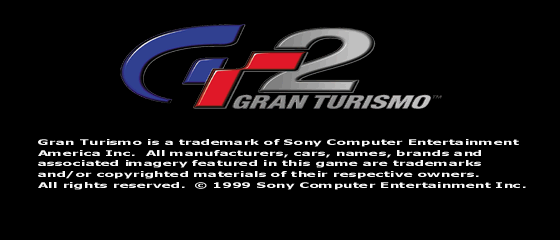 GT2 Bonus Disc's Disclaimer