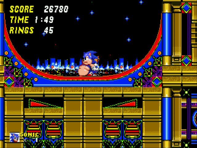 Sonic 2 XL - im stuck - User Screenshot