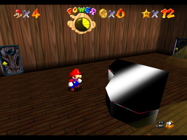 Super Mario 64 - Level Big Boo - HOLY CRAP THATS SCARY! - User Screenshot