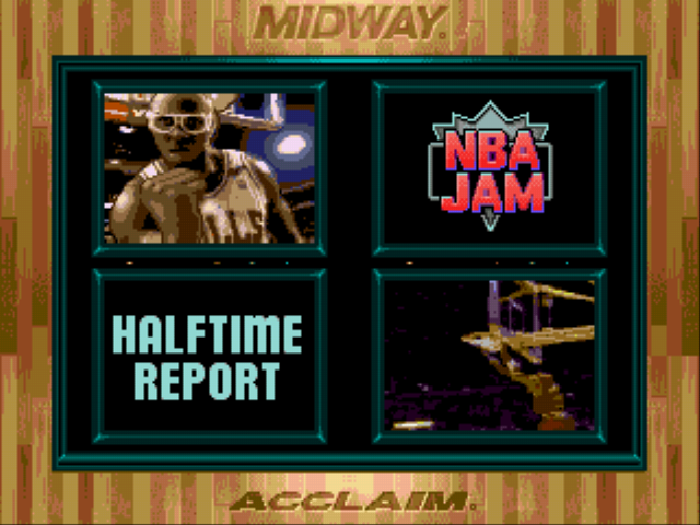 NBA Jam - Halftime Report. - User Screenshot