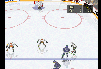 NHL Faceoff 97 - Misc In-Game - Hartford vs. Vancouver (1) - User Screenshot