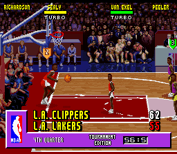 NBA Jam - Tournament Edition - Misc In-Game - Battle: Los Angeles - User Screenshot