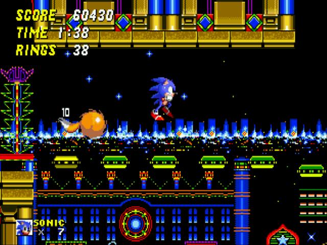 Sonic 2 casino night 2 player remix