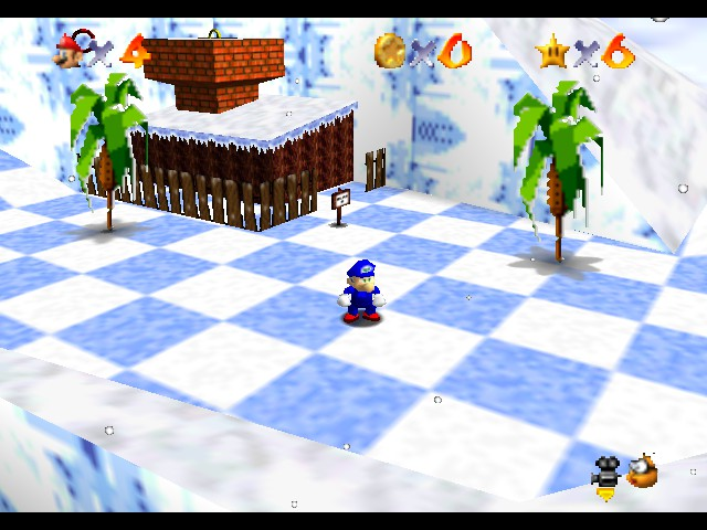Super Sonic 64 - Ice Cap Zone - User Screenshot