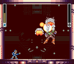 Mega Man X - Battle  - In your face! - User Screenshot