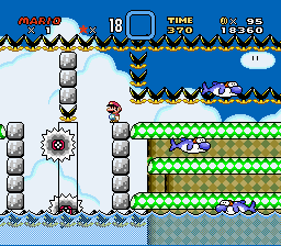 Kaizo Mario World - level 2 - User Screenshot