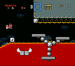 Kaizo Mario World - level 3 - User Screenshot