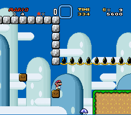 Kaizo Mario World - level 1 - User Screenshot