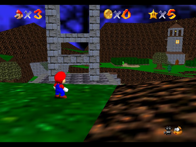 Super Mario 64 - Star Road - out of the map - User Screenshot
