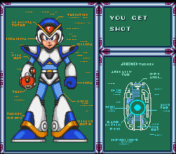 Mega Man X - Misc  - Full Armor and first kill XD piece of cake - User Screenshot