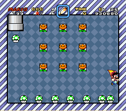 Super Mario World - Mini-Game  - Lucky Mini game  - User Screenshot