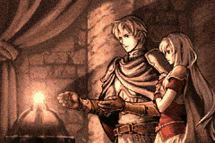 Fire Emblem - The Sacred Stones - Cut-Scene  -  - User Screenshot