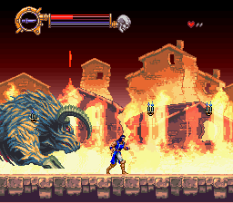 Castlevania - Dracula X - BEHEMOTH! - User Screenshot