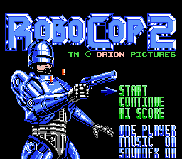 RoboCop 2 - RoboCop 2 - User Screenshot
