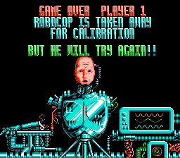 Robocop 2 - He will try again! - User Screenshot