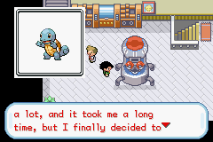 Pokemon Ash Gray (beta 3.61) - Squirtle - User Screenshot