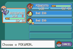 Pokemon Ash Gray (beta 3.61) - Found two bad eggs in my pc - User Screenshot