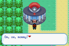 Pokemon Ash Gray (beta 3.61) - Yeah cry to your mommy - User Screenshot