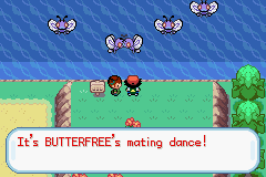 Pokemon Ash Gray (beta 3.61) - Cut-Scene  - Dance for your woman - User Screenshot