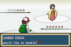 Pokemon Ash Gray (beta 3.61) - Battle  -  - User Screenshot