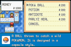 Pokemon Lightning Yellow (beta v0.12) - Never thought about shopping from this side - User Screenshot