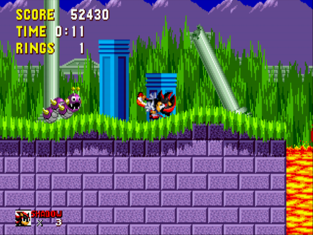 Shadow the Hedgehog - Shadow Is in with a Little Kick!! - User Screenshot