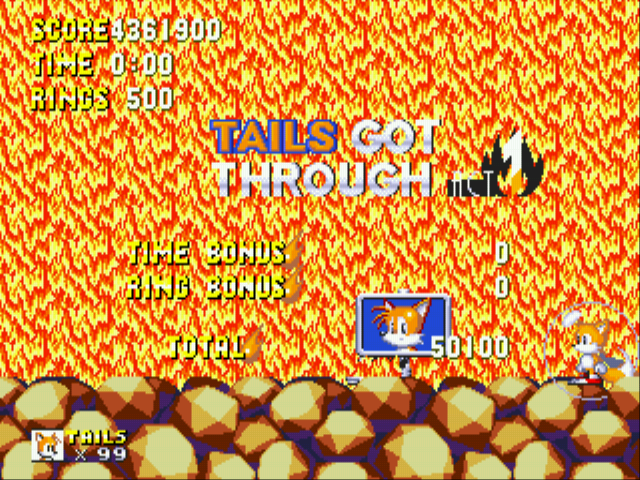 Sonic 3 Complete - WOAH THATS ALOT OF POINTS !!!!!!!!  - User Screenshot