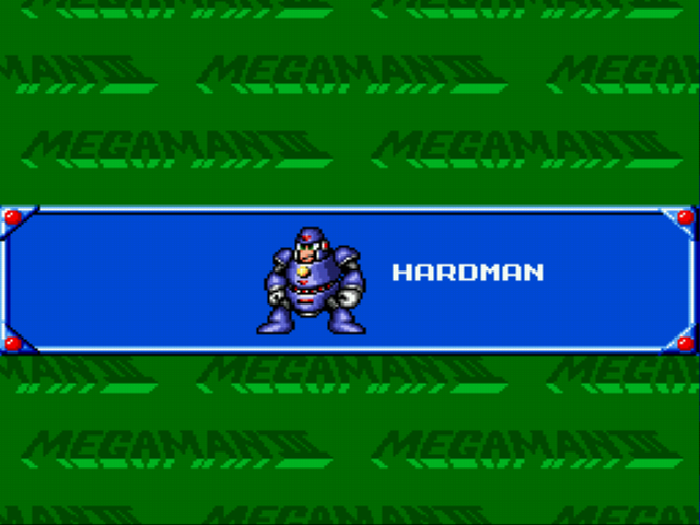 Mega Man - The Wily Wars - Uh Hardman? (No Comment) - User Screenshot