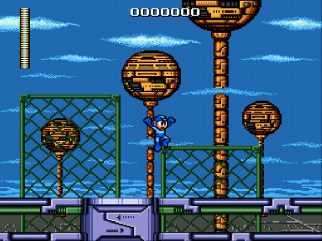 Mega Man - The Wily Wars - Level  - Bombman I