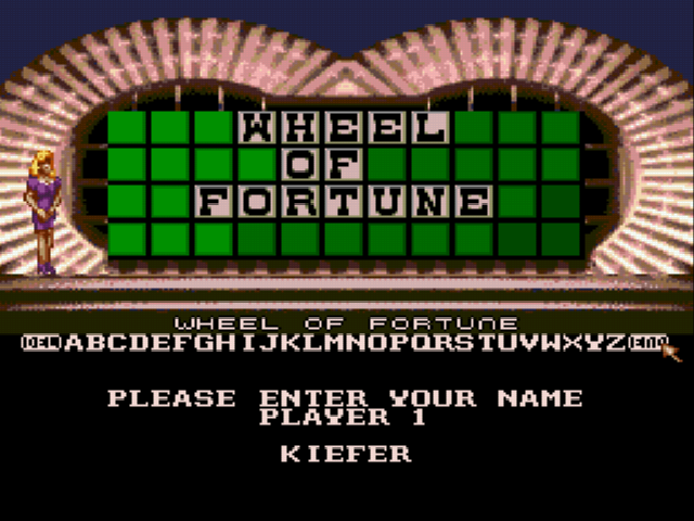 Wheel of Fortune - Character Select  -  - User Screenshot