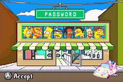 Simpsons, The - Road Rage - Code - User Screenshot