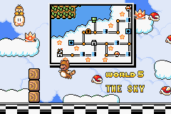 Super Mario Advance 4 - Super Mario Bros. 3 - Ending  - world 5 - User Screenshot