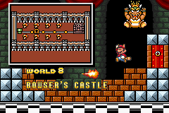 Super Mario Advance 4 - Super Mario Bros. 3 - Ending  - world 8 - User Screenshot