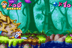 Rayman Advance - Oh hai there audience - User Screenshot
