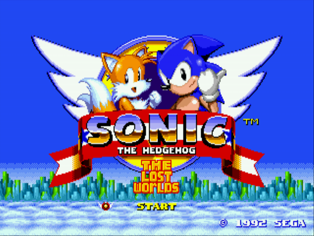 Sonic 2 - The Lost Worlds - sonic 2 complete - User Screenshot