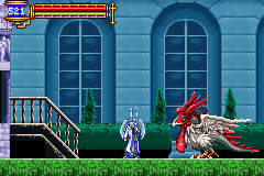 Castlevania - Aria of Sorrow - i think he wants to play - User Screenshot