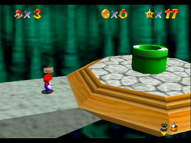 Legend of Zelda, The - Ocarina of Time - Level  - how did this get here!!! - User Screenshot