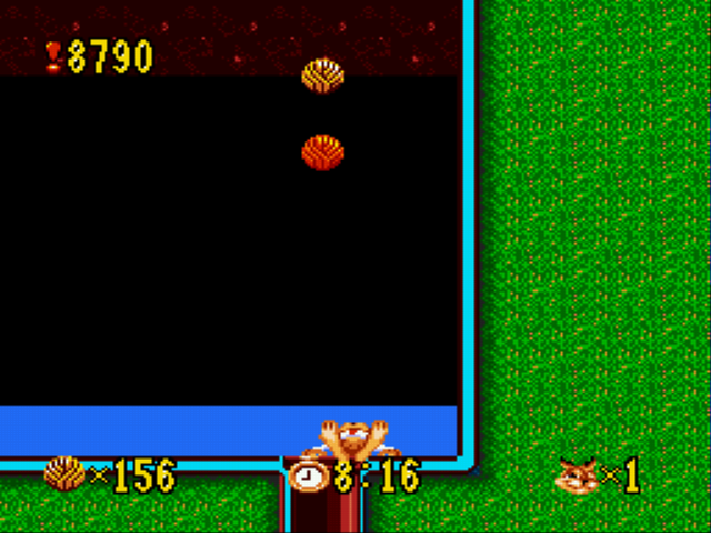 Bubsy - Level  - Yay, Bubsy Died! :D - User Screenshot