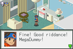 Megaman Battle Network 2 - :C NO - User Screenshot