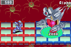 Megaman Battle Network 3 Blue - Level  - final boss. and a hard one 2. :c - User Screenshot