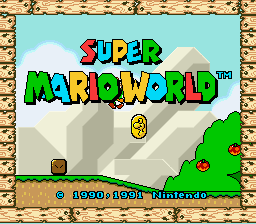 Super Mario World - Introduction  -  - User Screenshot