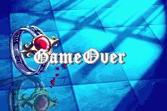 Castlevania - Harmony of Dissonance - game over - User Screenshot