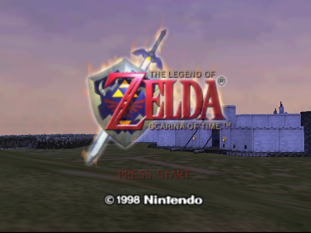 The Legend of Zelda - Ocarina of Time - Introduction  - really - User Screenshot