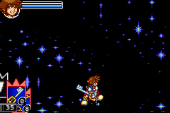 Kingdom Hearts - Chain of Memories - Level 13 boss fight - User Screenshot
