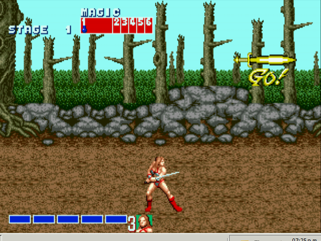 Golden Axe - Level  -  - User Screenshot