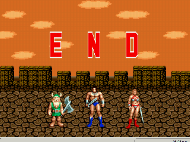 Golden Axe -  THE END -  - User Screenshot