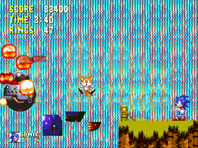 Sonic the Hedgehog 3 - a brave sacrafice...you will be missed - User Screenshot
