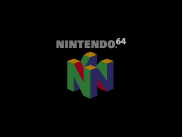 Super Smash Bros. - Introduction  - Nintendo 64 logo I miss this thing!! - User Screenshot